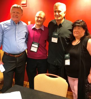 Bill Brier at the RT Booklovers Convention 2017 in Atlanta on a panel with Andrew Peterson, Karen Rose and Anderson Harp